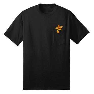 Taco Pocket T-Shirt (black)