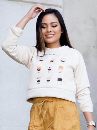Coffee Sweater (cropped)