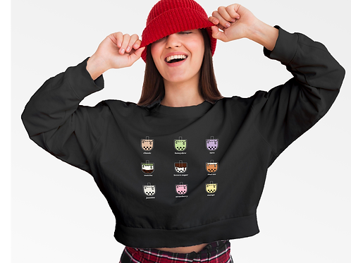 Bubble Tea Boba Sweater