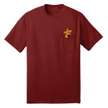 Taco Pocket T-Shirt (red)
