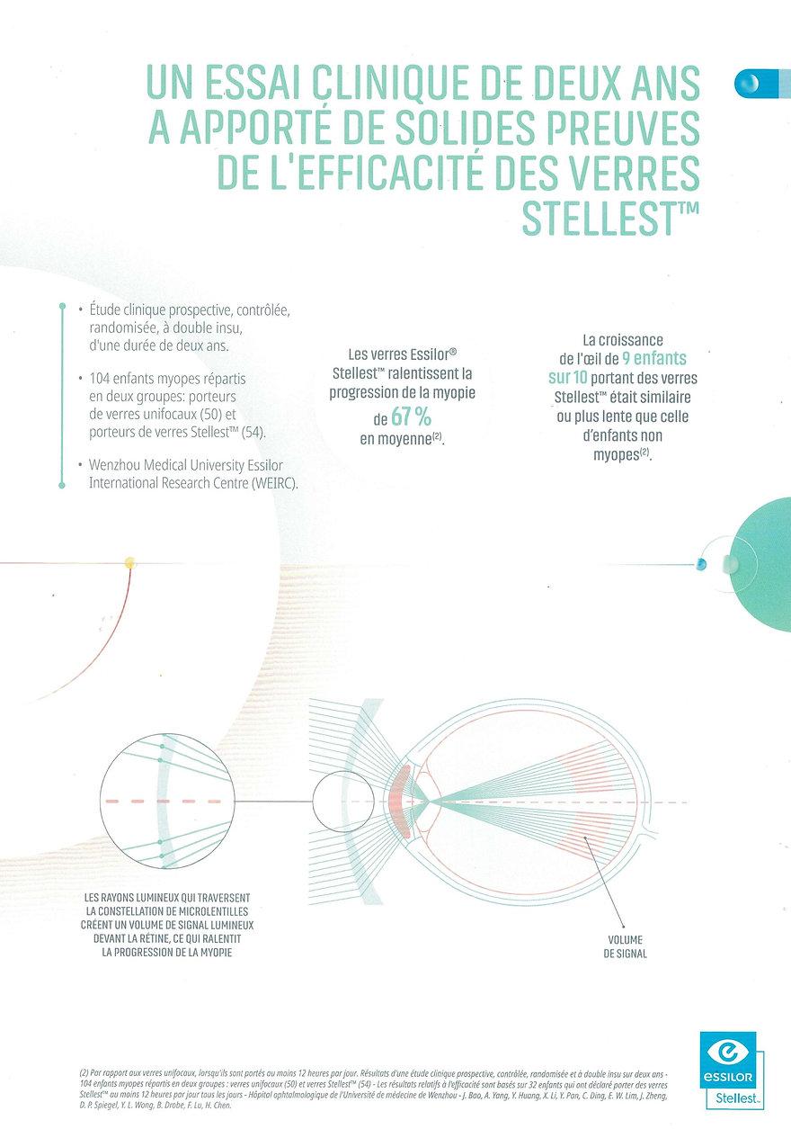 Essilor Stellest stop Myopie opticien Toulouse
