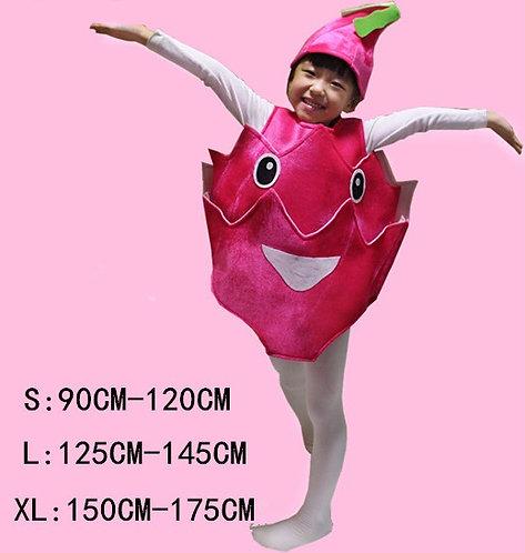 Dragon Fruit kids costume