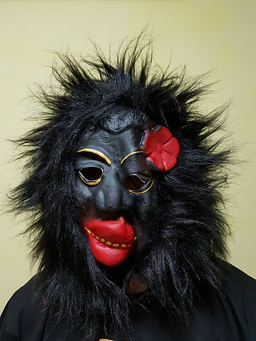 Flower Gorilla Mask
