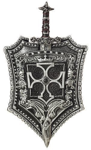 Crusader Shield and Sword Set