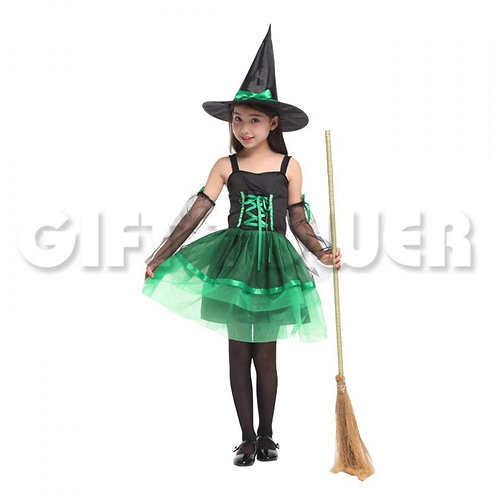 Lovely Organza Witch Green