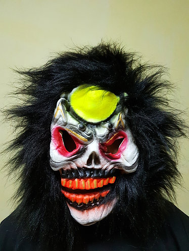 Ancient Spirit Mask with black hair