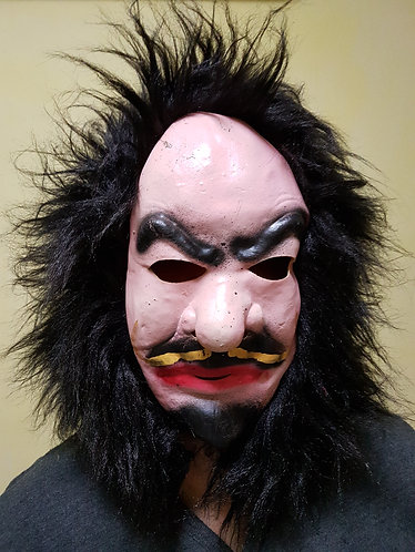 Karl Marx Mask with black hair