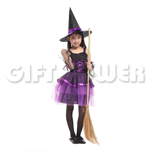 Lovely Organza Witch Purple