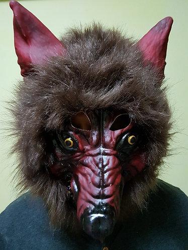 Dark Wolf Mask