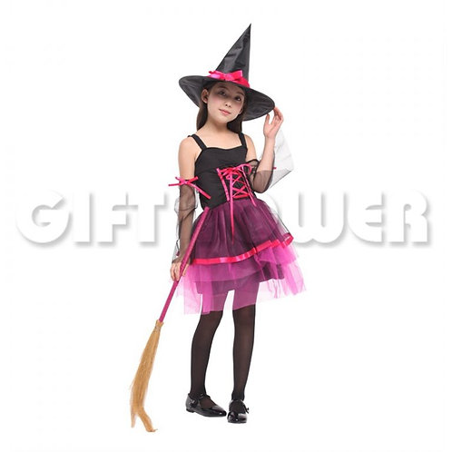 Lovely Organza Witch Pink