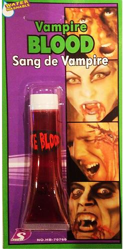 Blood ,fake vampire