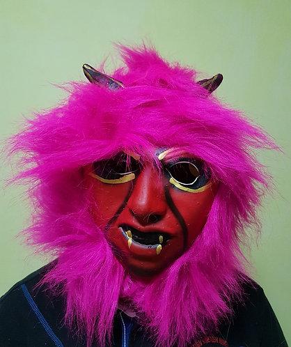 Pink Vampire Mask