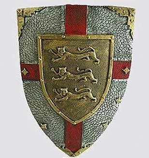Knight Shield (3 lions)