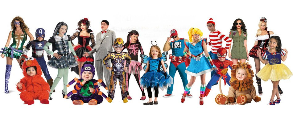 Largest range of costumes