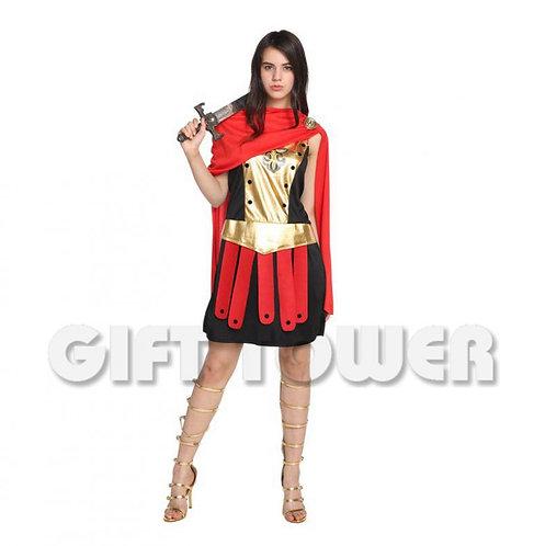 Golden Warrior Lady