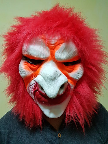 Red Hair Witch Mask