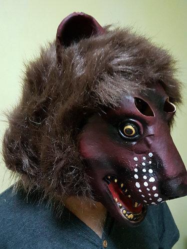 Dark Lion Mask