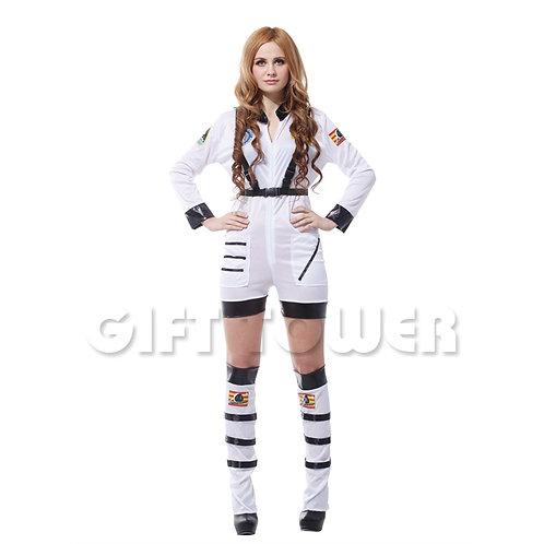 Sexy Astronaut White