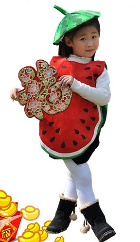 Water melon costume