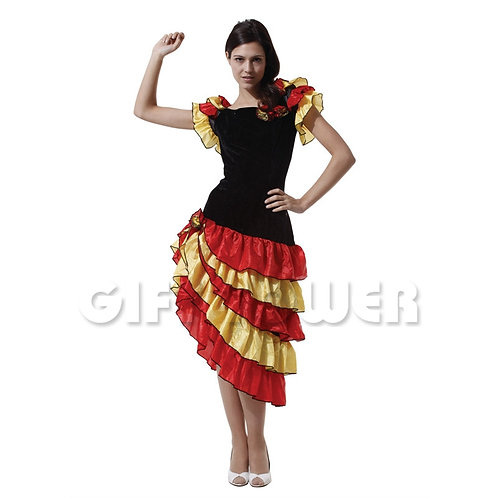 Pretty Flemenco Dancer