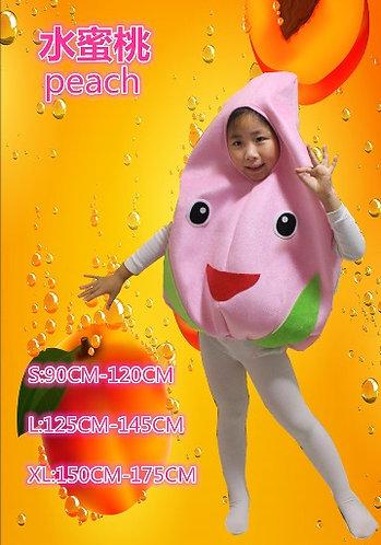 Peach costume for kids
