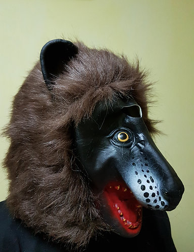Brown Gibbon Mask
