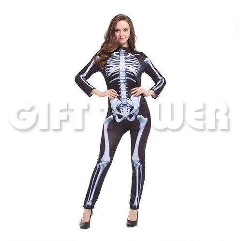 Ladies Skeleton Suit