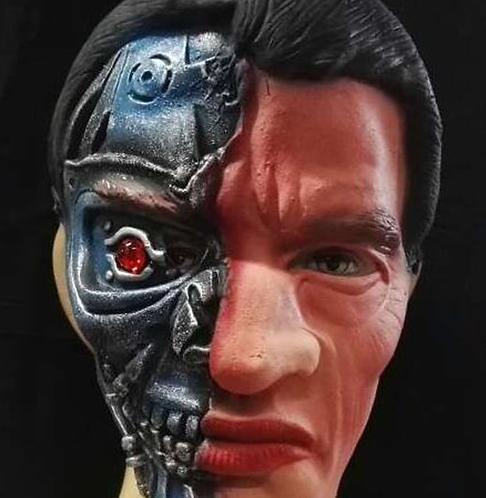 Machine Man Mask