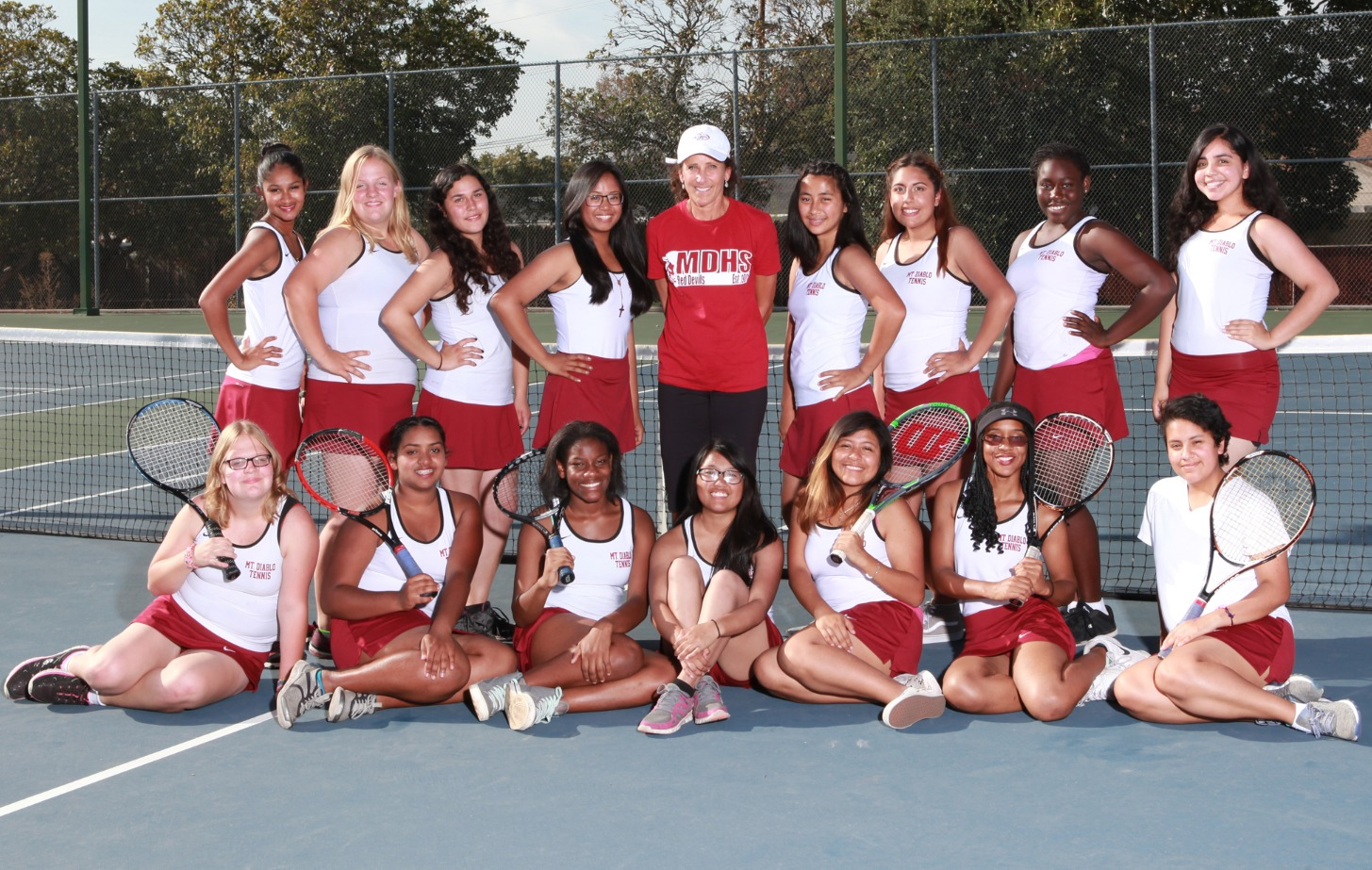 Mt. Diablo - Girls Tennis