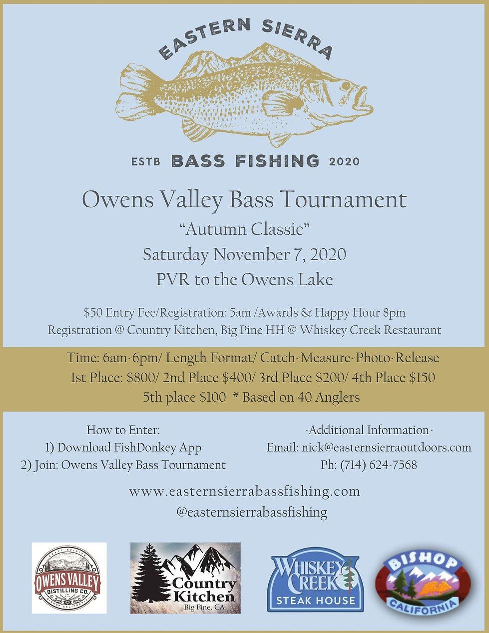 """Final_Owens Valley Bass Tournament """"Autu"""