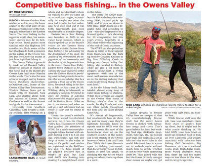 Western Outdoor News Article Feb 2021