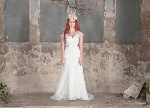 wedding dress, east london wedding boutique, lace wedding dress, rosalie wedding dress, east london bridal, wedding dress with sleeves
