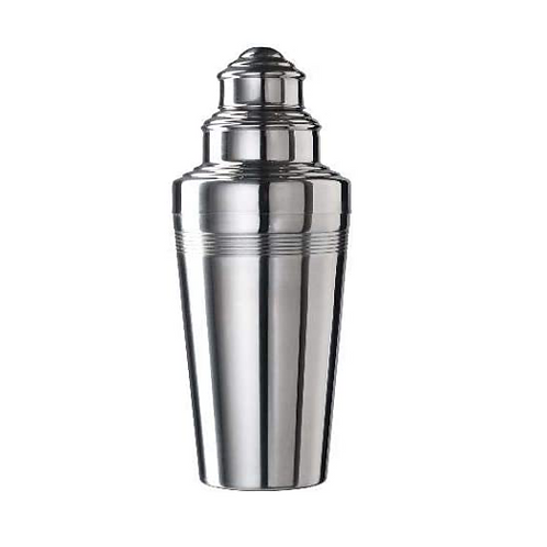 Coley Three Piece Shaker Polished 50cl