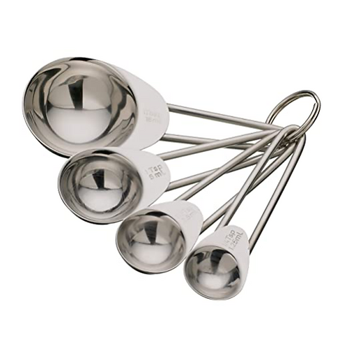 Stainless Steel Measuring Spoons Set, 4 Pieces