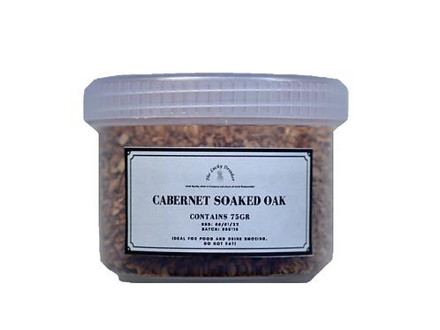 Wood Chips for Smoking - Cabernet Soak Oak (75gr)