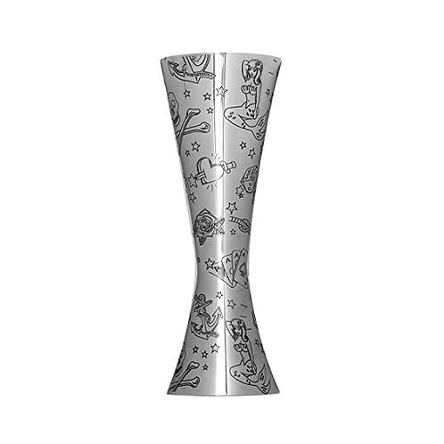 Tattoo Aero Stainless Steel jigger 25/50ml