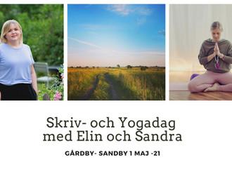 Skriv och yoga på Öland!