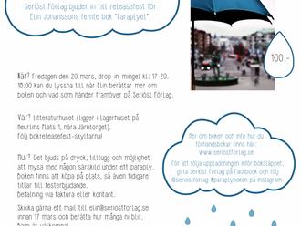Fest med tema: paraply/regn/Göteborg