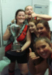 18's with FCB Cup