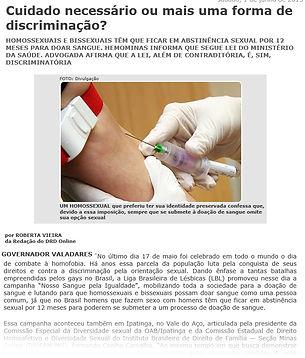 hoossexuais, doação de sangue para homossexuais, doação de sangue para homoafetivos, doação de sangue para gays, doação de sangue para lgbt