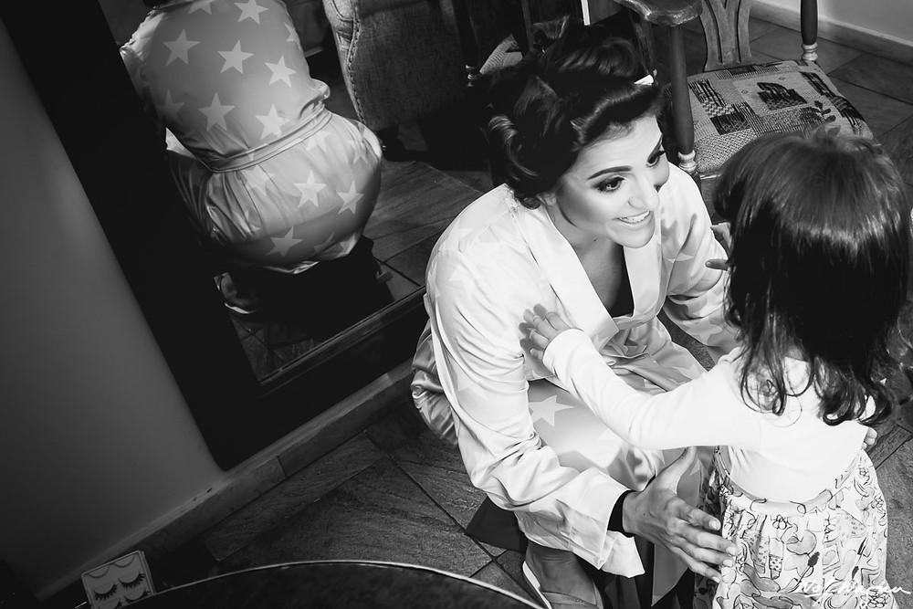 dama de honra, daminha de casamento, making of da noiva