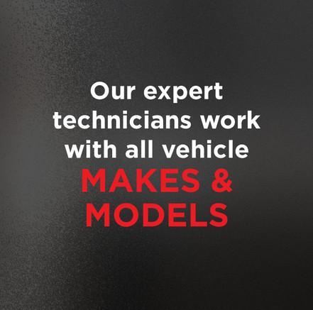 Our technicians work with all makes & models
