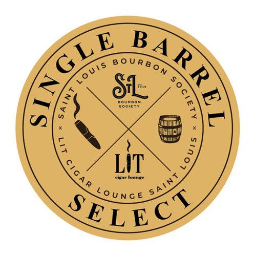 1 bottle of Buffalo Trace Single Barrel Select