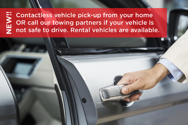 Contactless vehicle pickup