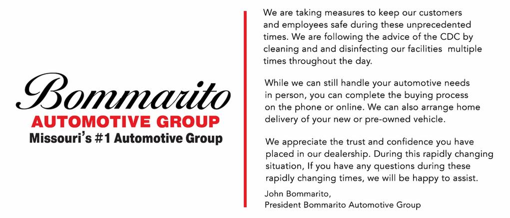 Bommarito's Health Response
