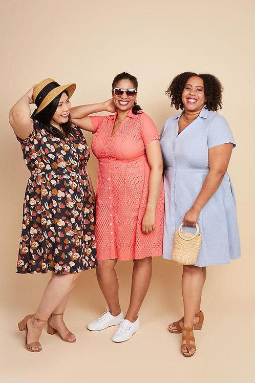 Cashmerette - Lenox  Shirtdress Pattern