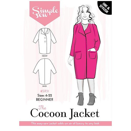 Simple Sew - Cocoon Coat Pattern