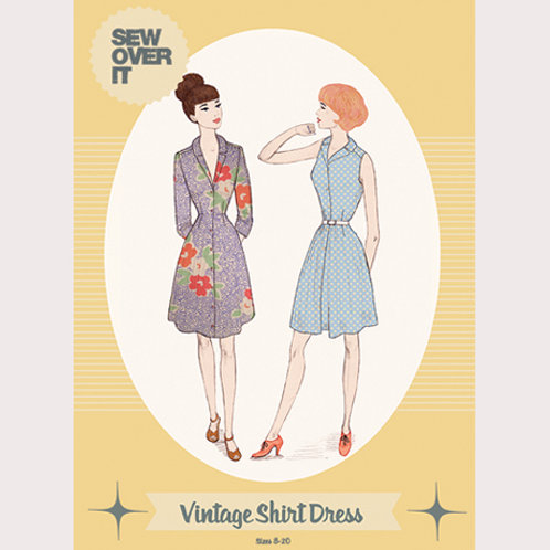 Sew Over It - Vintage Shirtdress Pattern