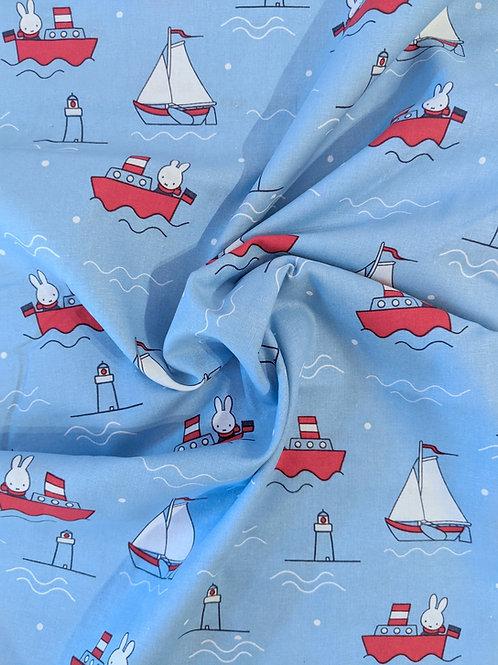 Miffy Yacht Print Cotton