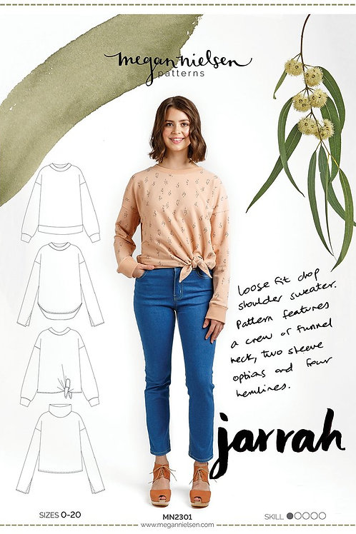 Megan Nielsen - Jarrah Sweater Pattern